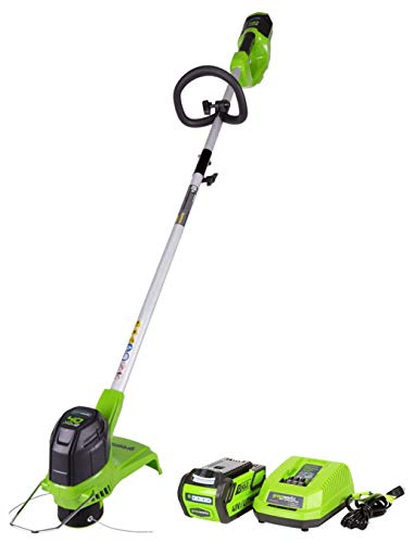 Greenworks 12-Inch 40V Cordless String Trimmer with Extra 3 Pack Spool, 2Ah...