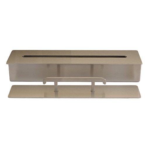 Stainless Steel Burner Firebox Fireplace Table Decoration Bio Ethanol Gel 1 liter / 33 cm