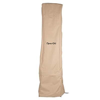 "Dyna-Glo DGPHC300BG 90"" Pyramid Patio Heater Cover, Beige"