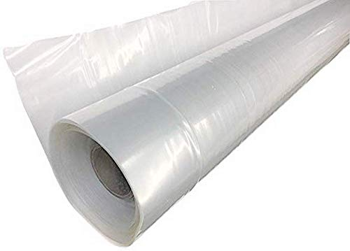 Farm Plastic Supply 4 Year Clear Greenhouse Film 6 mil Thickness (32' x 50')