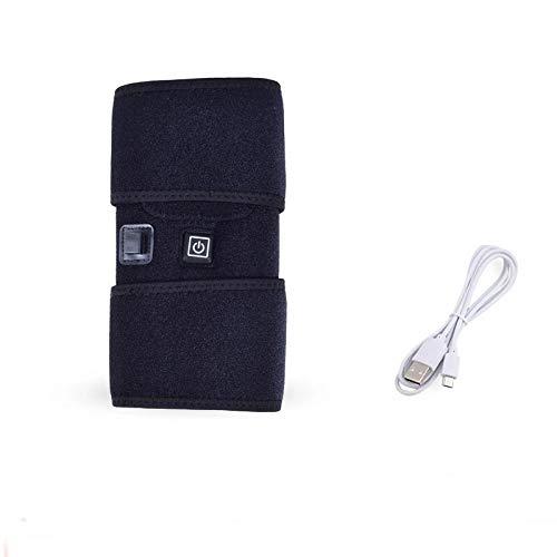 DZX Genouillère/Genouillère Chauffante, Lavable, avec Câble USB - pour Les Douleurs Aux Genoux, L'arthrite Et Les Blessures Sportives (Unisexe)