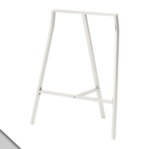 IKEA Vika LERBERG - Caballete, color blanco (X2)