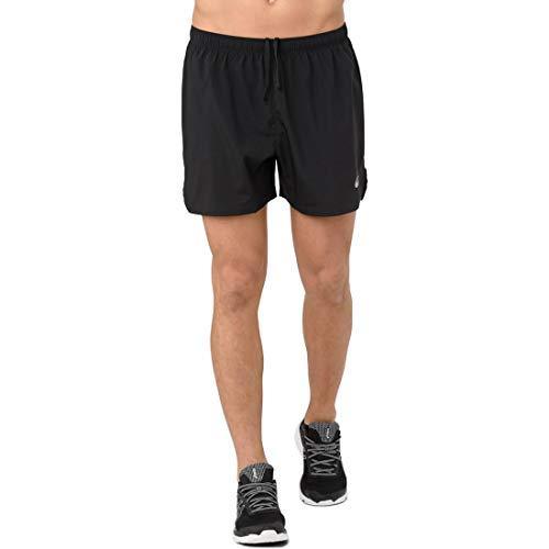 ASICS Men's Silver 5' Shorts, Performance Black, Large