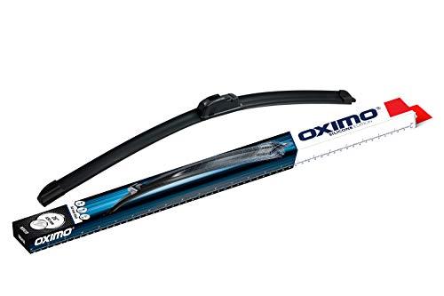 OXIMO WU650 SILICONE EDITION flaches Wischer Wischerblätter Scheibenwischer Scheibenwischerblätter über die Länge 650 mm
