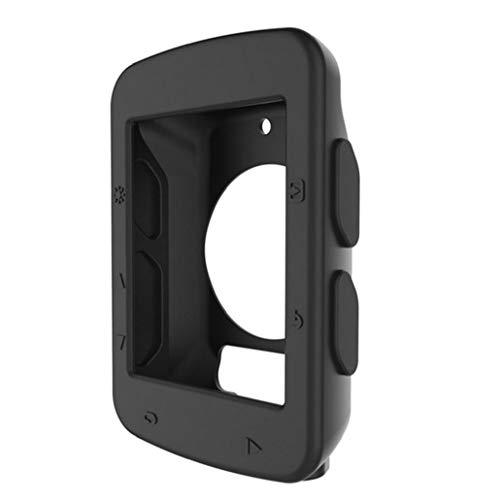 MICHAELA BLAKE Vigilando el Código Case Código 1pc Tabla de Silicona Protectora de Bicicletas Cubierta de Mesa Accesorios de teléfono para Garmin Edge 520 (Negro)