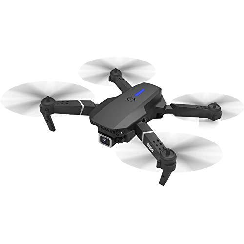 BHAHFL Drone con Camara HD, 4K Drones con Camara Profesional Estabilizador GPS, 5G WiFi FPV Drone Tiempo Real, Largo Tiempo de Vuelo Drone 16 Minutos Drone Plegable RC