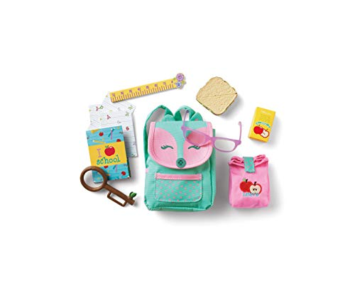 American Girl WellieWishers Ready to Learn Backpack & Lunch Set for 14.5' Dolls