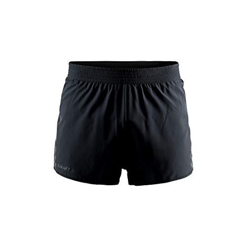 Craft Run Vent Racing Pantalones Cortos, Hombre, Negro, XL
