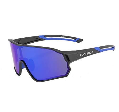 ROCKBROS Gafas Ciclismo Polarizadas Protección UV400 Bicicl