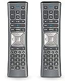 (2 Pack) Cox Contour 2 Voice Remote Control XR11 - F Voice Activated Cable TV Remote