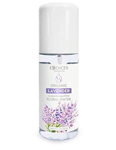 BIO-Lavendelwasser (Lavandula angustifolia) 100% naturrein Lavendel-Blütenwasser, Spitzenqualität aus dem eigenen Familienbetrieb, Spray als Gesichtswasser, Haarwasser, Tagespflege (140ml)
