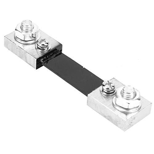 Resistencia de derivación, resistencia de derivación de AMP Precisión estable Práctico para componentes electrónicos para amperímetro digital(100A)