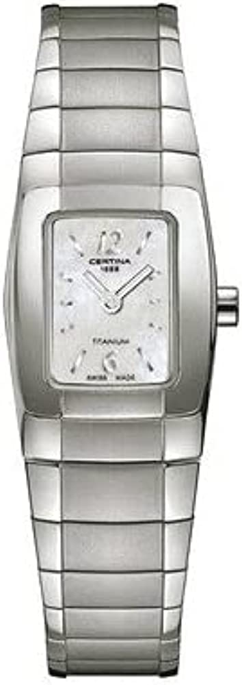 safety Free Shipping New Certina DS Spel Quartz Silver Dial Ladies C32271571296 Watch