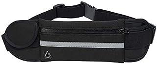 Vanten Running Belt Waist Pack, Waterproof Runners Belt Phone Holder Fit All Phone Models, Reflective Sport Waist Pack,Adjustable Sport Waist Pack Fit Most Waist Sizes