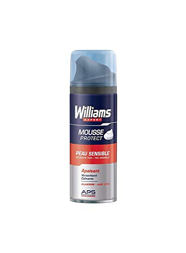 WILLIAMS espuma de afeitar piel sensible spray 200 ml