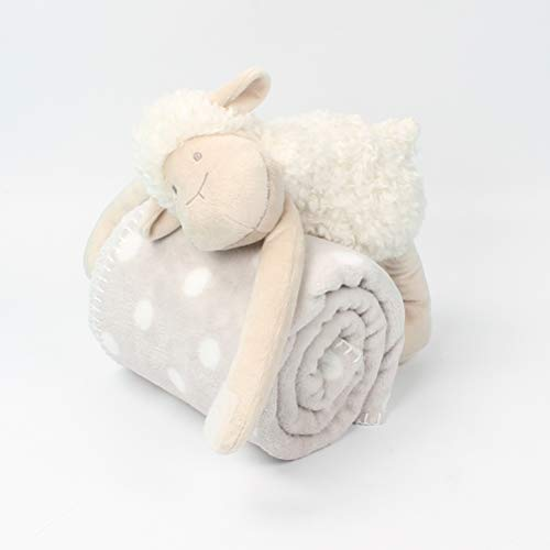 GLCS GLAUCUS Manta de Seguridad Beb/és Mantitas de Arrullo Juguete de Pluche S/úper Suave para Beb/és y Ni/ños Reci/én Nacidos
