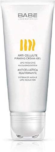 Laboratorios Babé Crema Gel Anticelulítica Reductora Reafirmante, Acción Liporeductora, Quemagrasas, Prevención de Celulitis, Unisex - 250 ml