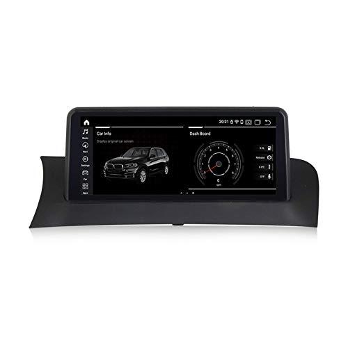 WXHHH Radio de automóvil con GPS Bluetooth Android 8.8 Pulgadas Pantalla táctil para Android Carplay incorporada Mantenga Todas Las Funciones para BMW X3 F25 X4 F26 2004-2012,N600