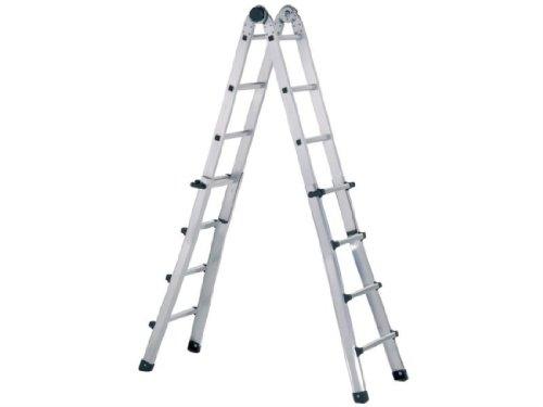 Preisvergleich Produktbild ZARGES Teleskop Trade Leiter 4 x 5 Sprossen zar41195