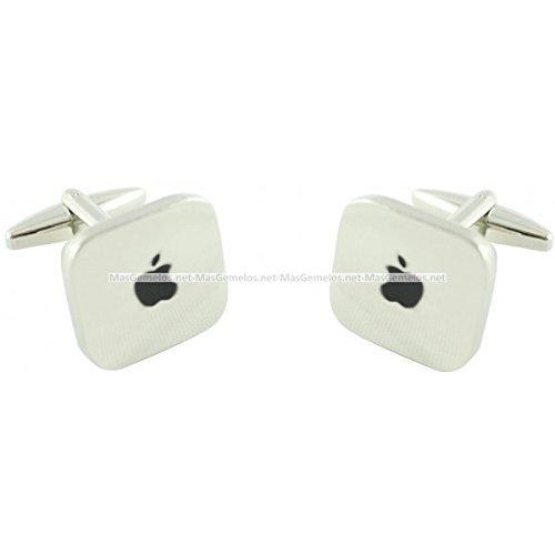 MasGemelos - Apple Manschettenknöpfe Schlüsselmanschettenknöpfe