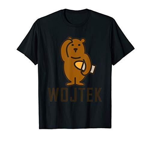Polish Wojtek Soldier Bear WWII Edinburgh T-Shirt