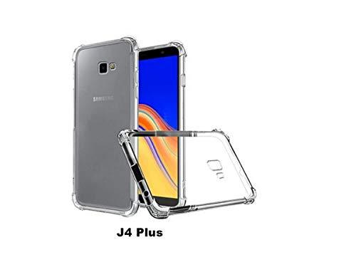 Capa Protetora Anti Impacto para Galaxy J4 Plus (Transparente)