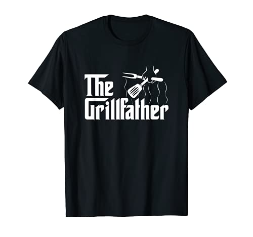 Der GRILLFATHER BBQ Grill & Smoker | Barbecue Chef T-Shirt