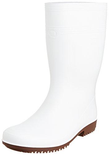 [ミドリ安全] 作業長靴 耐滑 耐油 耐薬 ハイグリップ NHG2000 スーパー メンズ ホワイト 30.0(30cm)