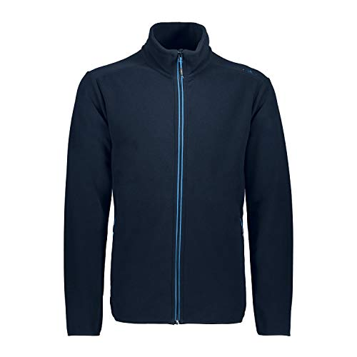 CMP – F.LLI Campagnolo Herren Leichte Fleecejacke mit Oeko-TEX Standard 100 Zertifizierung Fleece Jacket, Antracite, 56