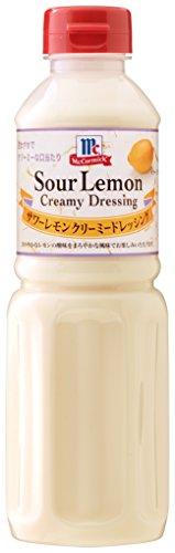 ユウキ食品 マコーミック サワーレモンクリームドレッシング ボトル480ml