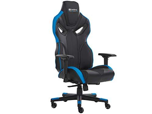 Sandberg Voodoo Gaming Chair Black/Blue, 640-82