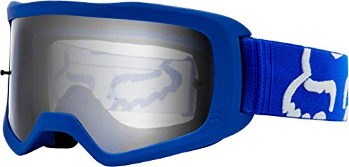 Best motorcycle goggles - Fox Racing Main II Race Goggles-Blue