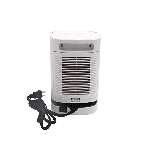 Lexilliy Heizlüfter Heizlüfter Keramik Heizgerät, 950W Kleine Heizung Elektrisch PTC Heizlüfter, 3 Sekunden erhitzen, 120 ° Weitwinkel-Heißluft 3 Stufe Thermostat Ideal für Badezimmer, Büro