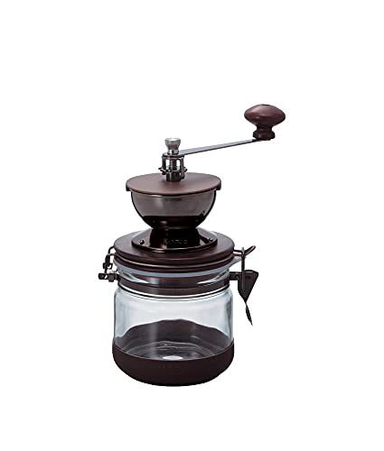 Hario Ceramic Canister Coffee Grinder, Wood