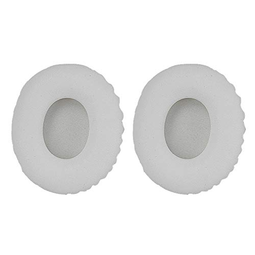 45532rr 1 Par De Auriculares Portátil Esponja Funda Protectora con Tarjeta Hebilla For Sony MDR-10RC (Color : White)