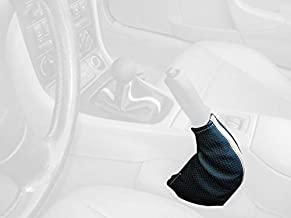 Automotive Boots Black Leather-Red Thread RedlineGoods Shift Boot ...