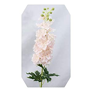 Dreamture 80CM Delphinium Hyacinth Artificial Flowers Continental PU Flowers Wedding Simulation Flower Home Decoration-Little Pink-