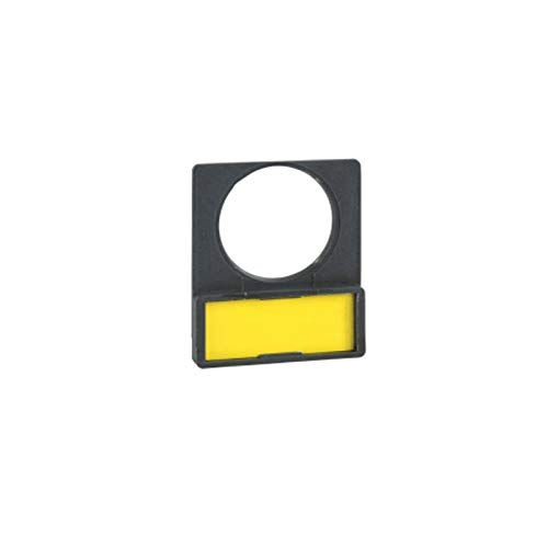 Schneider Schildträger 30x40mm m. Leerschild z. Gravieren, für Ø 22 Geräte, Plastic
