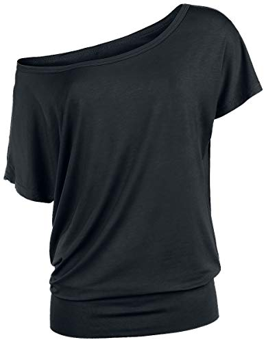 R.E.D. by EMP Can You Read My Mind Mujer Camiseta Negro XS, 95% Viscosa, 5% elastán, Regular