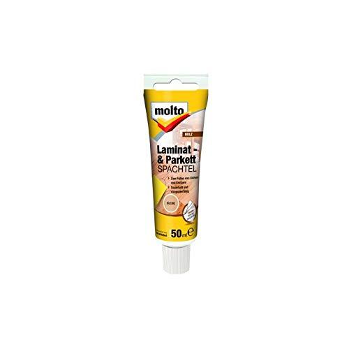 Molto LAMINAT+PARKETTSPACHTEL BUCHE 50ml Fertigspachtel Spachtelmasse Spachtel
