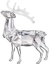 Swarovski Crystal Christmas Stag Figurine