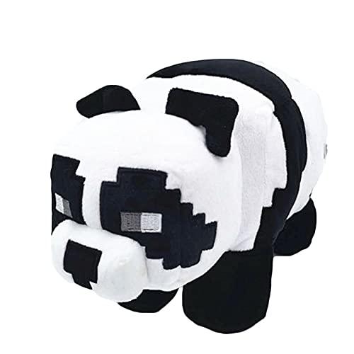 Cuscini di Peluche Panda, Cuscini di Peluche, Bambola di Peluche Panda Gigante, Panda Carino, Bambola di Panda Carino, Cuscini per Ufficio, Letti, Divani e Seggiolini Auto (Bianco e Nero)