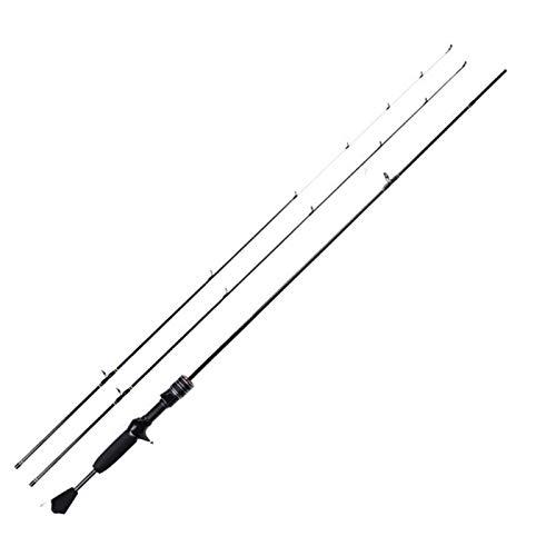 XZJJZ Canna da Pesca, 24T Portatile Ultra-Light   IM6 Carbonio Durevole Pesca Professionale Rod, Adatto a Mare Fishin River Fishing (Size : Spinning Rod)