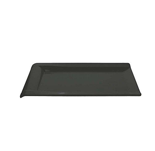 Tognana Assiette Rectangulaire Ligne Show Plate, matériel mélamine Nero 38x23