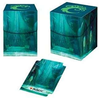 Wizkids Deck Box 100+ Magic Guilds of Ravnica Simic Combine Accessories