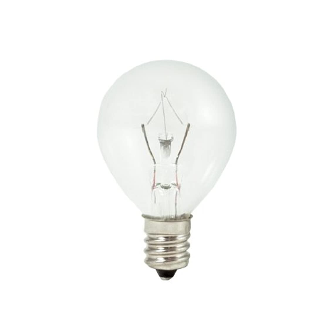 Bulbrite KR25G11CL-10PK 25W Krystal Touch G11 Globe Chandelier Bulb, Candelabra Base, 10-Pack wyatbsbswdypvj