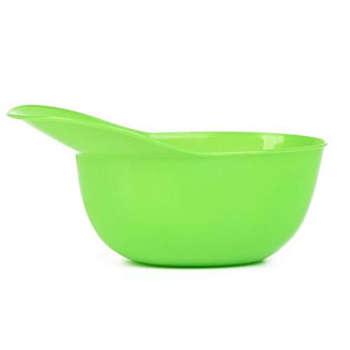 Miner kinderen plastic ijskommen duurzaam ijs crème beker voor kinderen koppels tubs geschenken mooie dessert schaal herbruikbare, groen