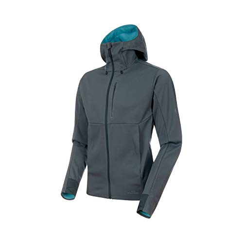 Mammut Ultimat V Hooded Softshelljas met capuchon voor heren