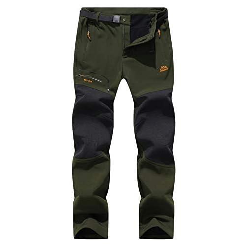 31G aK PNIL. SS500  - BenBoy Men's Walking Ski Trousers Softshell Winter Fleece Lined Outdoor Trousers Windproof Hiking Pants