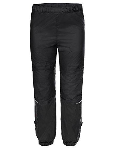 VAUDE Jungen Kids Grody Pants III Hose, Black, 134/140